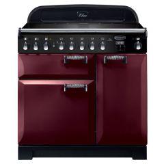 Rangemaster ELA90EICY ELAN Deluxe 90cm Induction Range Cooker Cranberry