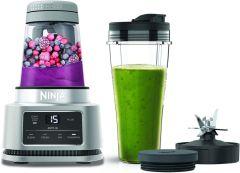 Ninja CB100UK Foodi Power 2-In-1 Nutri Blender - Silver