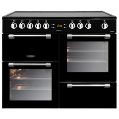 LEISURE CK100C210K 100cm Cookmaster Electric Range Cooker-Black