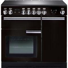 Rangemaster PROP90ECGB/C Professional Plus 90cm Ceramic Range Cooker Black