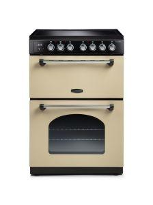 Rangemaster CLA60ECCR/C 128110 Classic 60cm Ceramic Cooker - CREAM/CHROME
