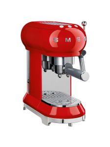 Smeg ECF01RDUK Coffee Machine Red