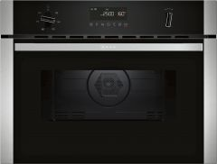 Neff C1AMG84N0B Built-in Compact Oven with Microwave Function - Stainless Steel