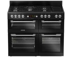 Leisure CS110F722K 110cm Cuisinemaster Dual Fuel Range Cooker-Black
