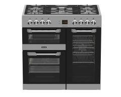 LEISURE CS90F530X 90cm Cuisinemaster Dual Fuel Range Cooker-Stainless Steel