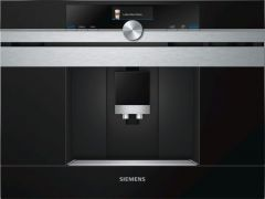 Siemens CT636LES6 iQ700 Built In Fully Automatic Coffee Machine-Stainless Steel