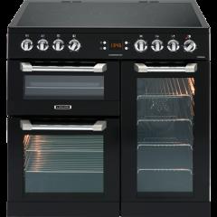 Leisure CS90C530K 90cm Cuisinemaster Electric Range Cooker-Black
