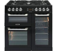 Leisure Cuisinemaster CS90F530K 90cm Dual Fuel Range Cooker Black