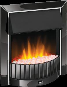 Dimplex DLS20BN-LED Delius Black Nickel Optiflame Electric Inset Fire
