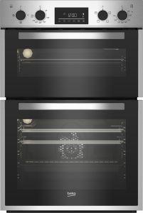 Beko BBDF26300X 90cm Double Fan Oven - Stainless Steel