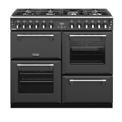 Stoves RCHDXS1000DFANT 100cm Richmond Deluxe Dual Fuel Range Cooker-Anthracite *Display Stock*