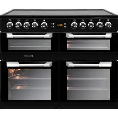 Leisure CS100C510K 100cm Cuisinemaster Electric Range Cooker-Black