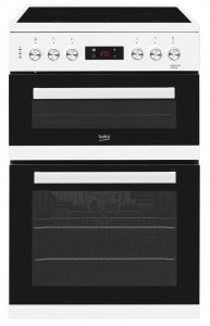 Beko KDC653W Freestanding 60cm Double Oven Electric Cooker-White