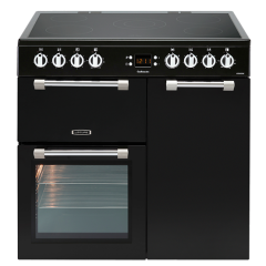 LEISURE CK90C230K 90cm Cookmaster Electric Range Cooker-Black