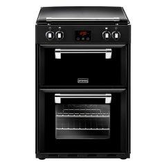 Stoves Richmond R600EIBK 60cm Induction Double Freestanding Cooker-Black