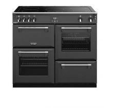 Stoves RCHDXS1000EICBAGR Richmond Deluxe 444410950 100cm Electric Induction Range Cooker - Anthracite Grey