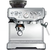 Sage BES875UK Barista Express Bean To Cup Coffee Machine Brushed Stainless Steel