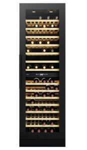 CDA FWC881BL Full Height Freestanding  Dual Temp Wine Cooler - Black