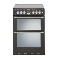Stoves Sterling S600GBLK 60cm Gas Freestanding Cooker-Black