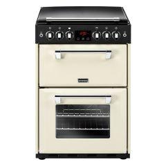 Stoves Richmond R600GCC 60cm Gas Double Freestanding Cooker-Cream