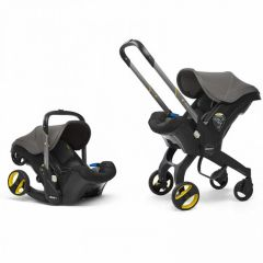 Doona CAR/SPA/669551 Infant Car Seat Stroller Greyhound