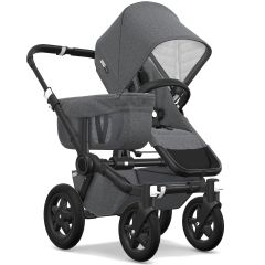 Bugaboo Donkey² Mono Classic Stroller -Black/Grey Melange