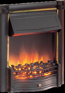 Dimplex HTN20BL Horton Black Optiflame Electric Inset Fire