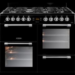 LEISURE CK100F232K 100cm Cookmaster Dual Fuel Range Cooker-Black