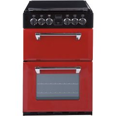 Stoves Richmond R550EJ Electric Ceramic Double Oven Mini Range-Jalapeno