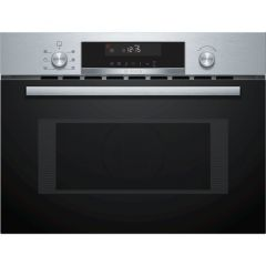 Bosch CMA585GS0B Built-in Compact Oven with Microwave Function-Stainless Steel