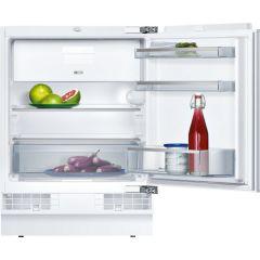 NEFF K4336X8GB Built Under Fridge with Freezer Section