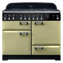 Rangemaster ELA110DFFOG ELAN Deluxe Dual Fuel Range Cooker Olive Green