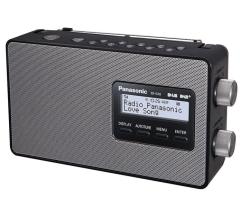 Panasonic RFD10EBK Portable Dab/Fm Radio Black