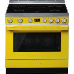 Smeg CPF9IPYW Portofino 90cm Induction Cooker-Yellow