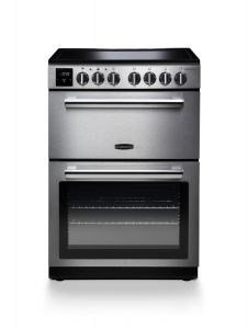 Rangemaster PROPL60ECSS/C 128180 Professional Plus 60cm Ceramic Cooker - STAINLESS/CHROME