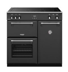 Stoves RCHDXS900EICBAGR Richmond Deluxe 444410914 90cm Electric Induction Range Cooker - Anthracite