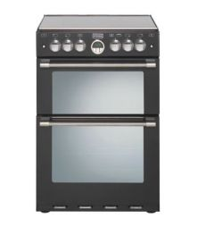 Stoves S600MFTIBLK 60cm Double Oven, Induction Cooker - Black