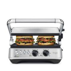Sage SGR700BSS4GEU1 Bbq & Press™ Grill Sandwich Maker - Stainless Steel