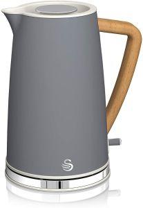 Swan SK14610GRYN Nordic Jug Kettle - Grey