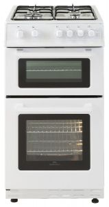 Belling FSG50TCWHLPG 50cm Twin Cavity Gas Cooker White