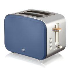 Swan ST14610BLUN 2 Slice Toaster - Blue