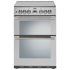 Stoves Sterling 600DFW 60cm Stainless Steel Dual Fuel Mini Range Cooker