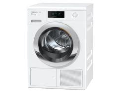 Miele TCR780WP Ecospeed & Steam 9kg Heat-Pump Tumble Dryer - White