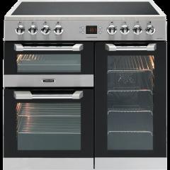 Leisure CS90C530X 90cm Cuisinemaster Electric Range Cooker-Stainless Steel