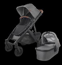 Uppababy 0320-VIS-UK-GRY Vista V2 Stroller Greyson