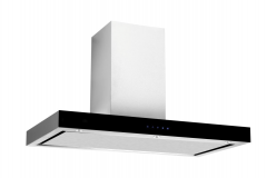 Xtreme UT01-90A Flat 90cm Chimney Hood - Stainless Steel