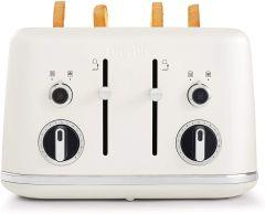 Breville VTT970 Lustra 4 Slice Toaster - White