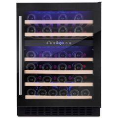 Amica AWC601BL Freestanding Wine Cooler - Black