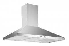 Xtreme UT06-70C 70cm Wide Chimney Style Hood - Stainless Steel