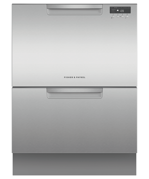Fisher & Paykel DD60DCHX9 Built in Double DishDrawer Dishwasher-Stainless Steel